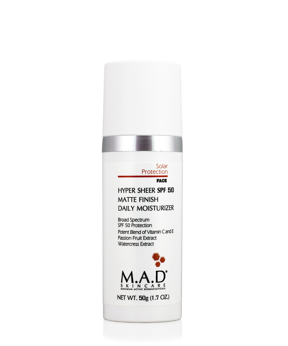 Купить M.A.D. Увлажняющий и матирующий крем- основа под макияж с защитой spf 50, 50 гр (M.A.D., Sun Protection)