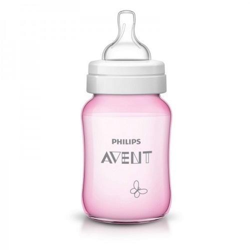 Бутылочка для кормления Бабочка,260мл (Avent, Стандарт) бутылочки для кормления philips avent