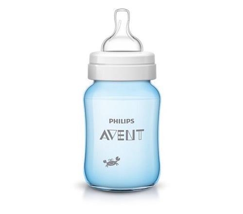 Бутылочка для кормления Крабы,260мл (Avent, Стандарт) бутылочки для кормления philips avent