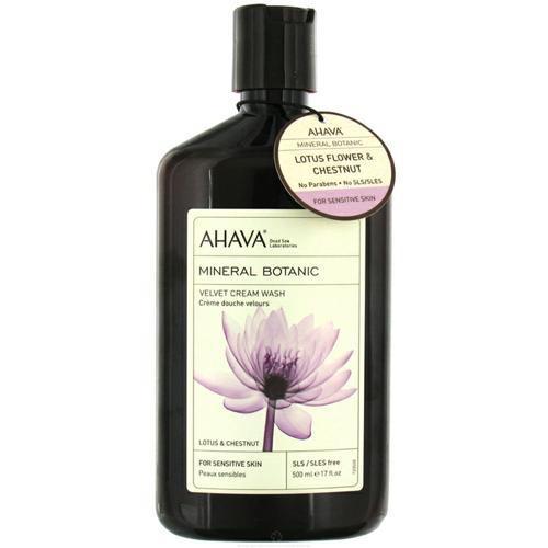 Бархатистый крем для тела лотос и каштан 400 мл (Ahava, Mineral botanic) ahava mineral botanic velvet body lotion lotus