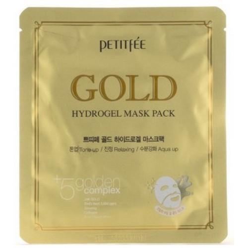 Petitfee Гидрогелевая маска для лица с золотом, 32 г (Petitfee, Hydrogel Mask Pack) фото
