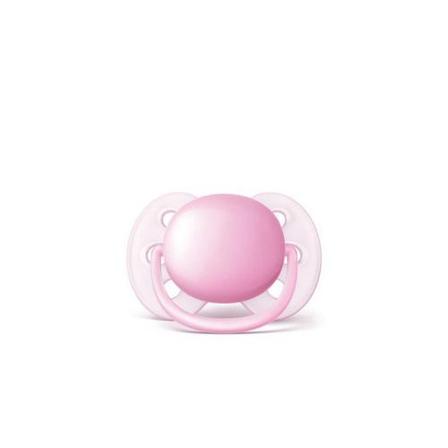Соскапустышка силиконовая ортодонтическая (06 мес, 2шт.)SCF21320 (Avent, Пустышки)