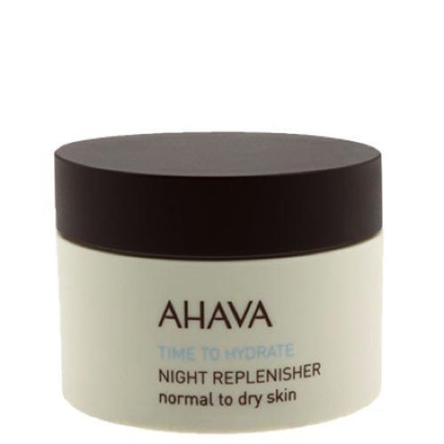 Ночной восстанавливающий крем для нормальной и сухой кожи 50 мл (Ahava, Time to hydrate) ahava увлажняющая крем маска time to hydrate 100 мл