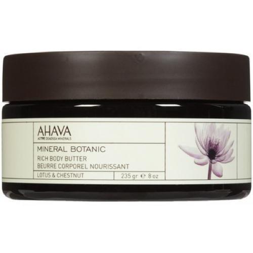 Насыщенное масло для тела лотос и благородный каштан 235 гр (Ahava, Mineral botanic) ahava mineral botanic velvet body lotion lotus