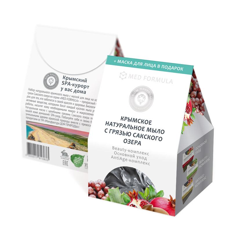 Купить Дом природы Подарочный набор мыла Домик (3 вида мыла по 100 гр) (Дом природы, Наборы), Россия