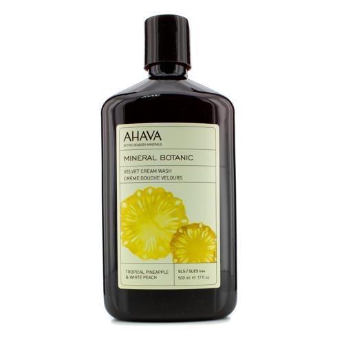 Ahava Бархатистое жидкое крем-мыло тропический ананас и белый персик 500 мл (Mineral botanic)
