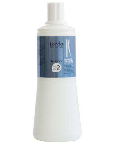 Londa Professional Blondes Unlimited Окислитель 6% 1000 мл (Londa Professional, Обесцвечивание)