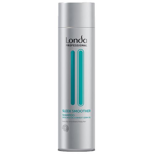 Разглаживающий шампунь 250 мл (Londa Professional, Sleek Smoother) шампунь 250 мл londa professional fiber infusion