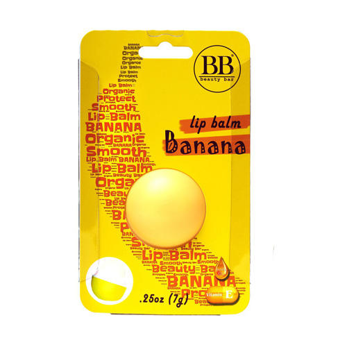 Бальзам для губ с ароматом банана в блистере 7 гр (Бальзам для губ)
