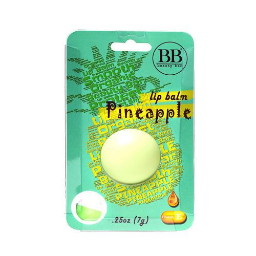 Бальзам для губ с ароматом ананаса в блистер 7 гр (Beauty Bar, Бальзам для губ) цена