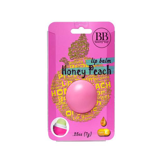Бальзам для губ с ароматом персика в блистере 7 гр (Beauty Bar, Бальзам для губ) бальзам для губ с кофе beauty bar beauty bar coffee lip balm