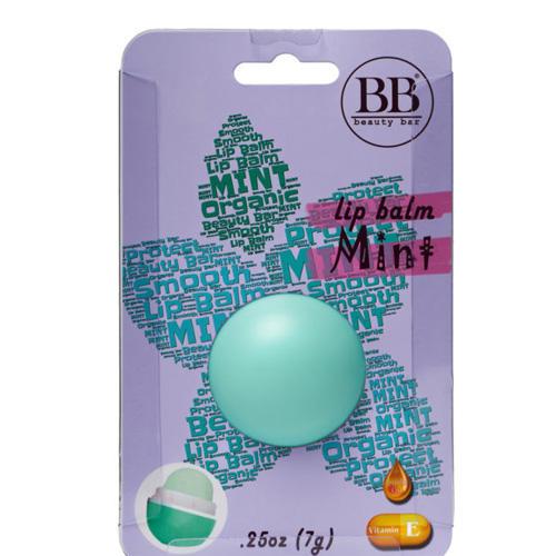 Бальзам для губ с ароматом мяты в блистере 7 гр (Beauty Bar, Бальзам для губ) цена