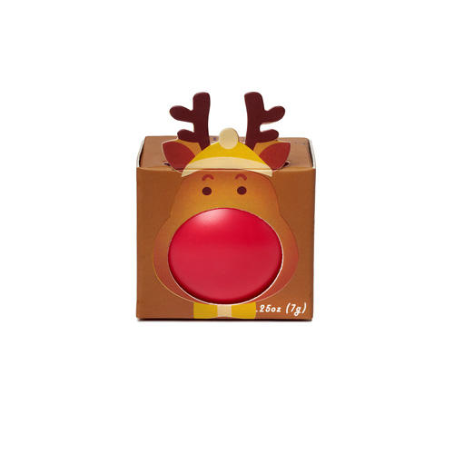 Бальзам для губ с ароматом клубники в коробочке 7 гр (Бальзам для губ)