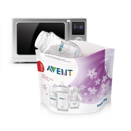 Пакеты для стерилизации в микроволновой печи (Avent, Стерилизаторы) посуда для микроволновой печи пласттим pt1674