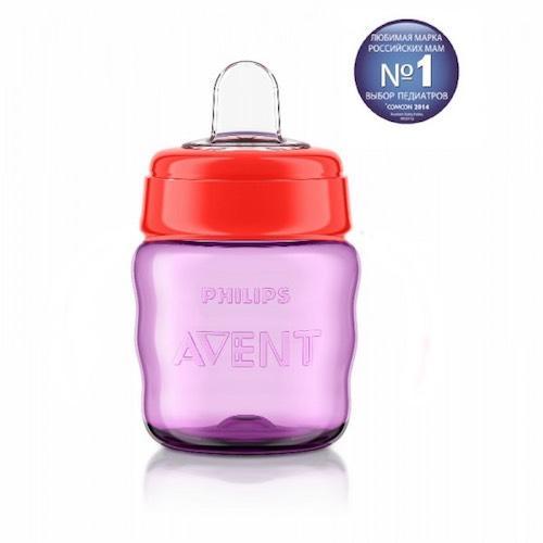 Avent Чашка-поильник Comfort с носиком, 260 мл, 12мес+ (Детская посуда)