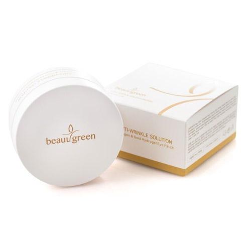 BeauuGreen Гидрогелевые патчи для кожи вокруг глаз BeauuGreen с коллагеном и золотом 60 шт (BeauuGreen, Уход за кожей вокруг глаз)