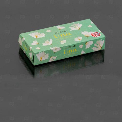 Elleair Салфетки бумажные в коробке  150 шт (Elleair, I:na)