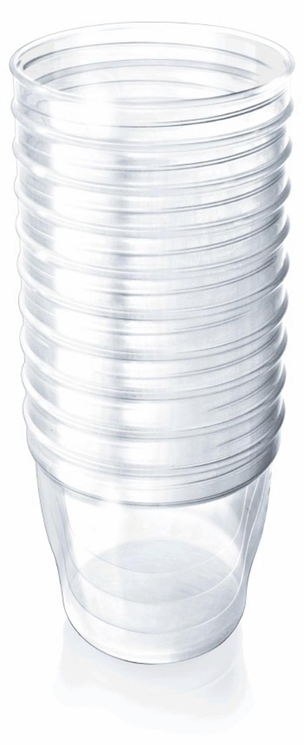 Запасные контейнеры Avent Philips VIA 10 шт. (Avent, Система VIA) контейнеры для хранения грудного молока 4х125мл avent бутылочки для кормления стандарт