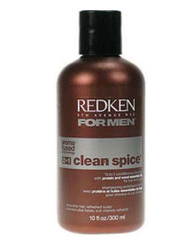 Redken Клин Спайс шампунь и кондиционер с ароматной формулой 2-в-1  300мл (For Men)
