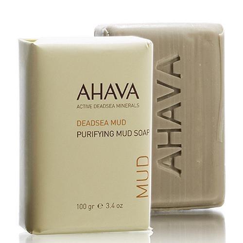Мыло на основе грязи мертвого моря 100 гр (Ahava, Deadsea mud) мыло на основе соли мертвого моря 100 гр ahava deadsea salt
