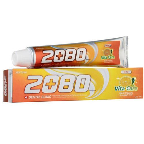DC 2080 Зубная паста, витаминный уход со фтором 120 г (Kerasys, Dental Clinic) недорго, оригинальная цена