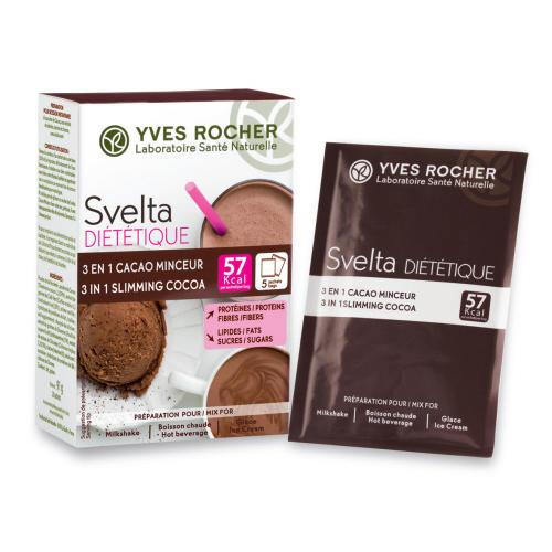 Свелта Шоколад 3-в-1, 5 пакетиков по 16 г (Svelta)