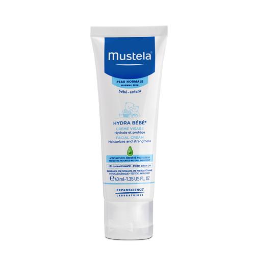 Mustela Крем для лица увлажняющий Hydra-Bebe детский 40 мл (Bebe - защита кожи)