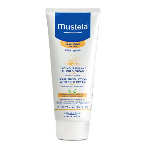 Mustela Молочко для тела защитное с кольд-кремом для детей всех возрастов 200 мл (Bebe - защита кожи)