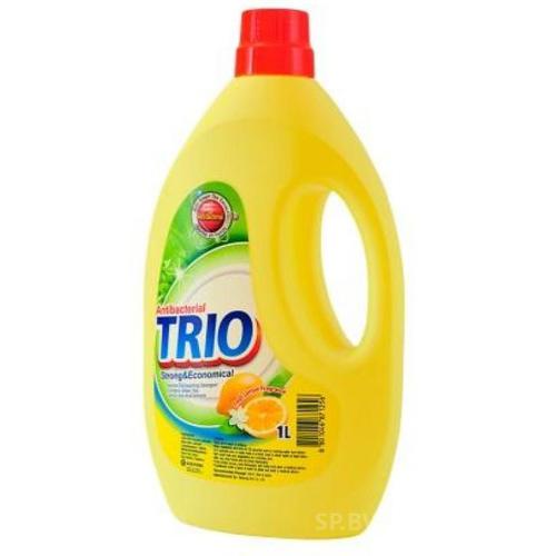 Trio Antibacterial Средство для мытья посуды, Антибактериальное, 1000 мл (Kerasys) средство для мытья посуды гранат запаска 1200 мл kerasys