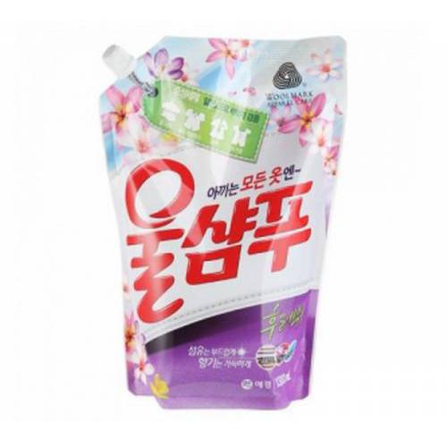 Kerasys Wool Shampoo Fresh Жидкое средство для стирки, Свежесть 1300 мл ()