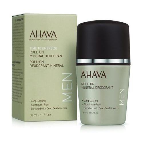 Ahava Дезодорант шариковый минеральный для мужчин 50 мл (Ahava, Men energize) минеральный гель для душа ahava time to energize 200 мл