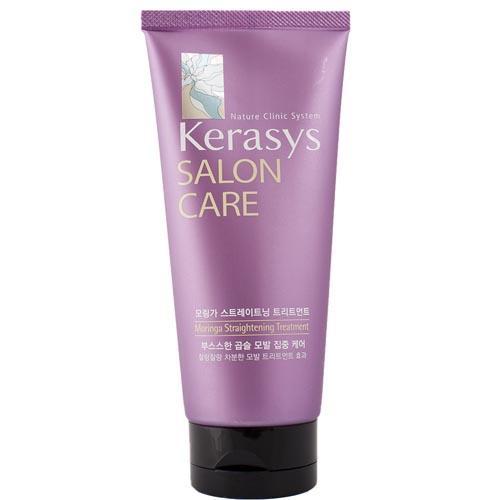 Маска для вьющихся волос, гладкость и блеск 200 мл (Kerasys, Salon Care) питательная маска для волос kerasys salon care moringa texturizer treatment