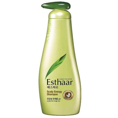 Esthaar Scalp Energy Line Шампунь против выпадения волос 500 мл (Kerasys, Hair Care Esthaar) kerasys esthaar scalp energy shampoo шампунь контроль над потерей волос для нормальной и сухой кожи головы 400 мл