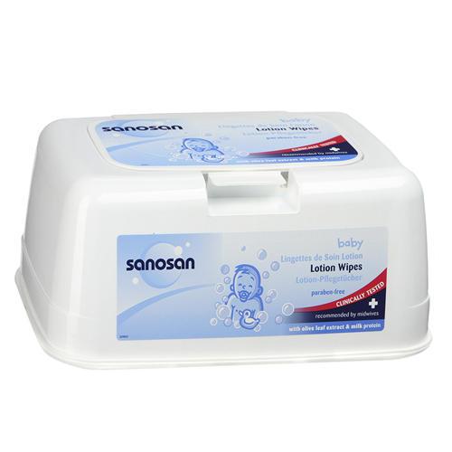 Влажные салфетки Комфорт в контейнере 72 шт (Sanosan, Baby очищение) отшелушить кожу на лице