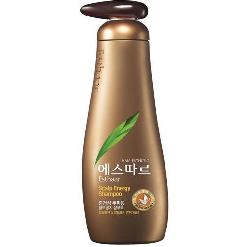 Шампунь контроль над потерей волос для нормальной и сухой кожи головы 400 мл (Kerasys, Hair Care Esthaar) kerasys esthaar scalp energy shampoo шампунь контроль над потерей волос для нормальной и сухой кожи головы 400 мл
