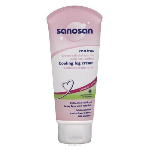 Sanosan Крем Охлаждающий крем от отеков ног в период беременности 100 мл (Mama)