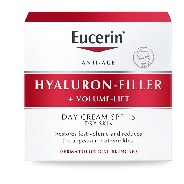 Eucerin Крем для дневного ухода за сухой кожей 50 мл (Eucerin, HYALURON-FILLER