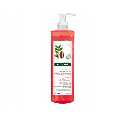 Klorane Гель для душа цветок гибискуса 400 мл (Klorane, Body care) клоран гель для детей