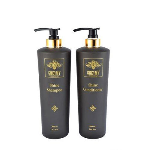 Greymy professional Набор Шампунь для блеска 800 мл + Кондиционер для блеска 800 мл (Salon service)