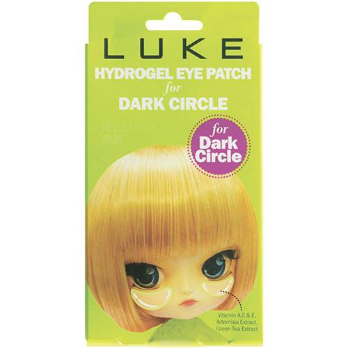 Luke Гидрогелевые патчи для кожи вокруг глаз LUKE против темных кругов с экстрактом зелёного чая 5 пар (Luke).