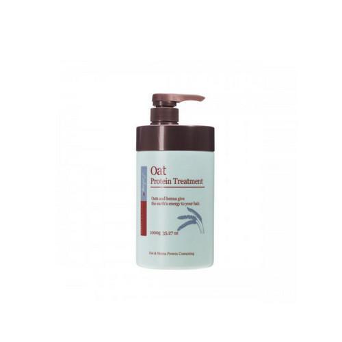 Восстанавливающий кондиционер с экстрактом овса 1000 мл (JPS, Для волос) dime кондиционер с аминокислотами для поврежденных волос 1000 мл