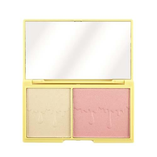 Палетка хайлайтера и румян I Heart Makeup Light and Glow (Makeup Revolution, Лицо) цена