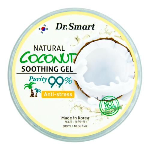 Купить Dr. Smart Гель для лица и тела с кокосом Антистресс Natural Coconut Soothing Gel 99%, 300 мл (Dr. Smart)