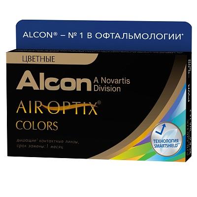 Фото - Alcon Цветные контактные линзы плановой замены Air Optix Colors 2 шт (Alcon, Цветные линзы) colors