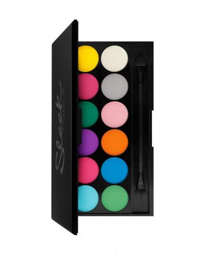 Eyeshadow Palette IDivine Ultra Matte V1 Тени для век в палетке, 12 тонов (, Глаза) для глаз nyx professional makeup ultimate shadow palette 04 цвет 04 brights variant hex name fc7154