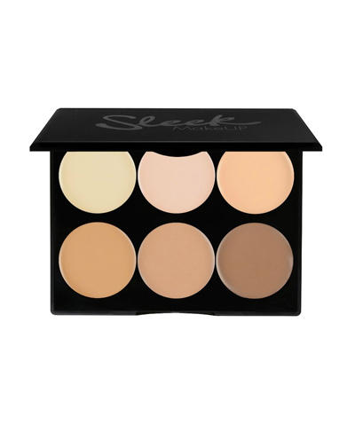 Корректор кремовый Cream contour Kit (Sleek Makeup, Лицо) cc крем для лица sleek makeup sleek makeup cc cream