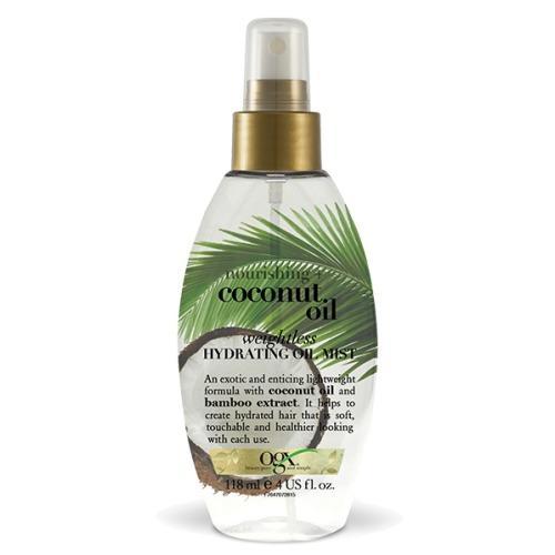 OGX Легкое увлажняющее масло-спрей с кокосовым маслом 118 мл (OGX, Для волос) недорого