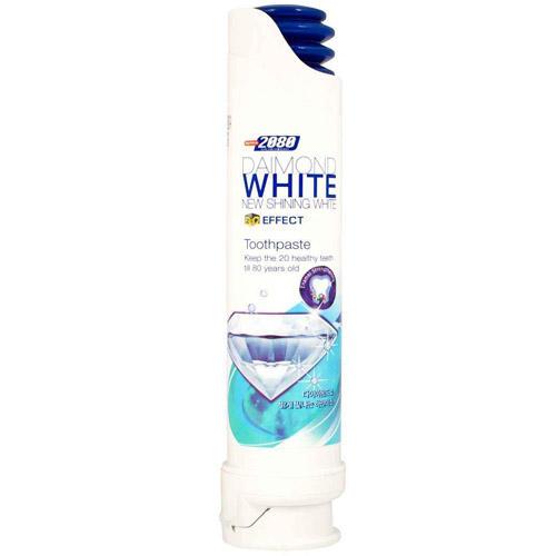 DC 2080 Зубная паста, сияющая белизна с дозатором 100 г (Kerasys, Dental Clinic) мультивитаминная зубная паста kerasys dc 2080 vita care