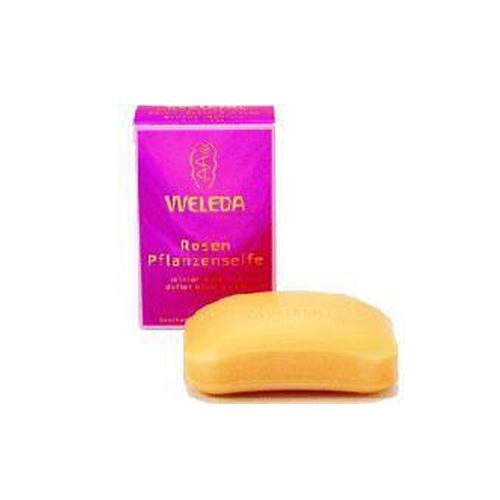 Розовое растительное мыло 100 гр (Розовая линия)