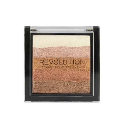 Хайлайтер Vivid Shimmer Brick (Makeup Revolution, Лицо) губная помада makeup revolution i heart makeup lip geek